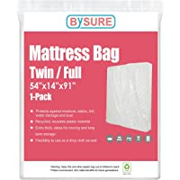 BYSURE 4 Mil Extra Thick Mattress Bag for Moving & Long Term Storage