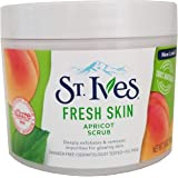Exfoliante facial de control de acné de St. Ives, Albaricoque, Multicolor, 295.73 ml (10 oz), paquete de 1