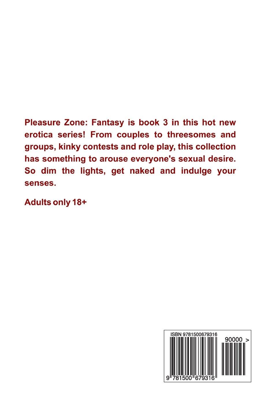 Amazon.com: Pleasure Zone: Fantasy (Volume 3) (9781500679316): Darren G.  Burton: Books