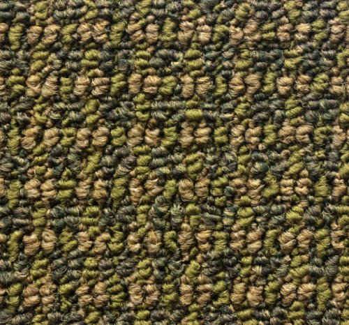 SQUARE 5'X5' Tahoe Rain Forest Indoor Durable Level Loop Area Rug for the Home with Premium BOUND Polyester Edges. - Forest Square Rug