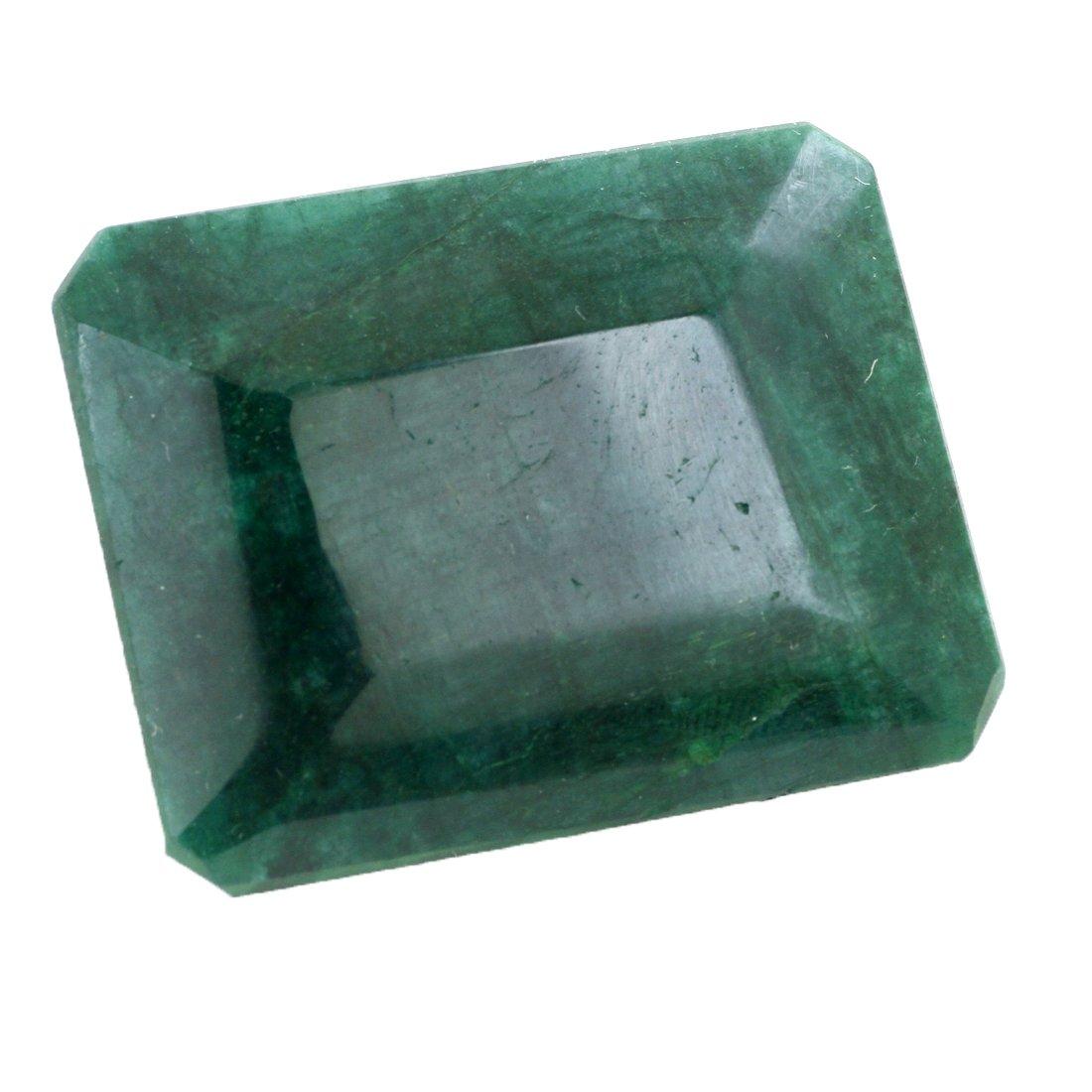 skyjewels認定300 ctエメラルドファセットグリーンエメラルドLoose宝石   B075Z5D1FD
