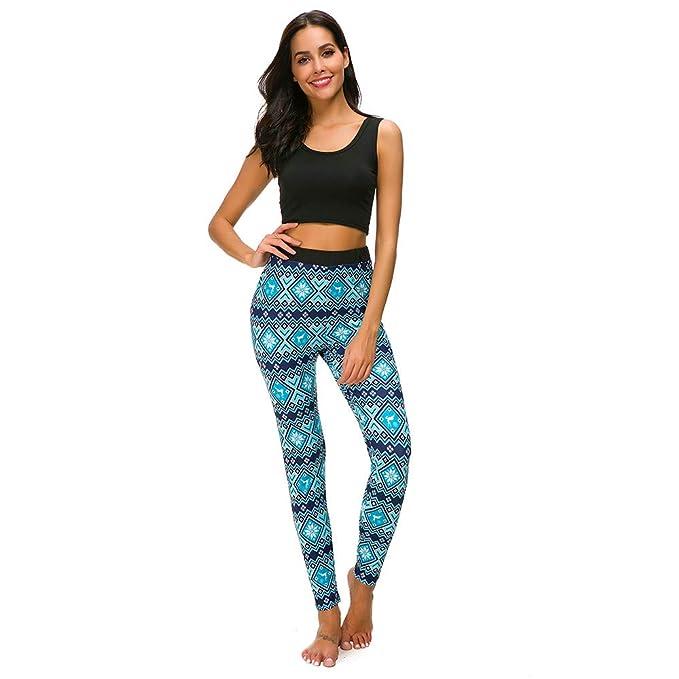 dc2474ffeab5cc FRAUIT Weihnachten Leggings Damen Yoga Hose Frohe Skinny Elastic Print  Pants ausgestattete Leggings Zeichnen Hosen Streifen Hüfthose Strumpfhose  Strumpfhose ...
