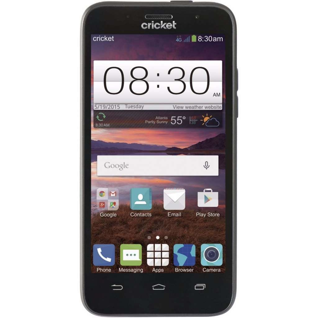 Cricket wireless customer service - Amazon Com Zte Fanfare 4g Only For Cricket Wireless Locked 5mp Camera 4 5 Inch Cell Phones Accessories