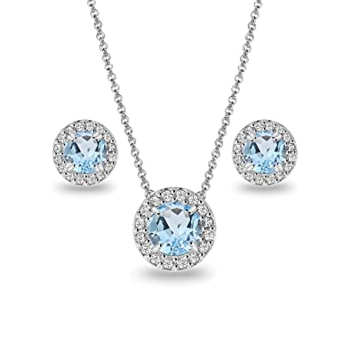 gems jewelry you free topaz white for sterling and silver watches opal necklace product