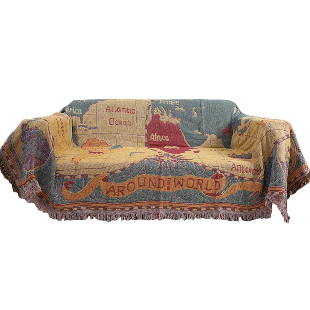 Urban Loft by Westex Tropical Paradise Sofa Cushion Decorative Throw Pillow cover 20 x 20 Multi-Coloured
