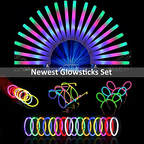 Lifbeier Glow sticks set