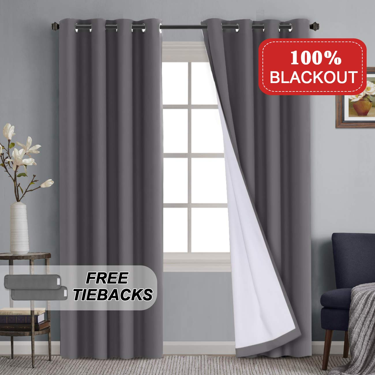 Grey Curtains For Living Room