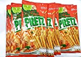 Glico Pretz Bread Stick Tom Yum Kung Flavour 14.5g 12 Packs
