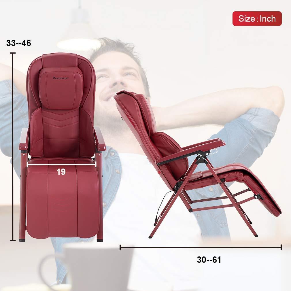 Amazon.com: Shiatsu - Silla de masaje plegable, portátil ...