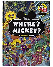 Disney - Where's Mickey Mouse - A Look and Find Book Activity Book - PI Kids
