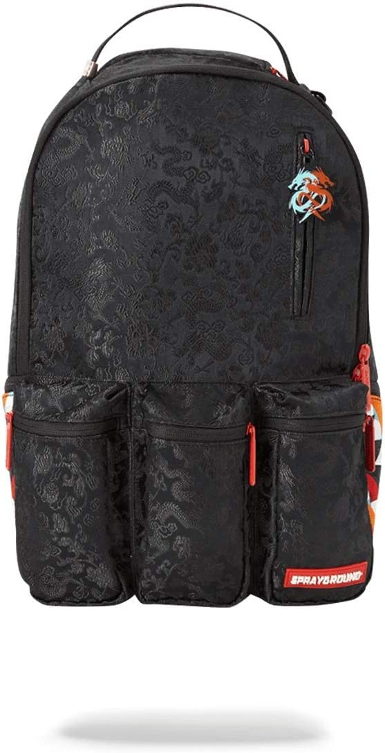 SPRAYGROUND BACKPACK DRAGON SIDE SHARK CARGO