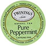 Twining's Pure Peppermint Tea, K-Cup for Keurig Brewers – 18 Count Boxes – Pack Of 2 Review