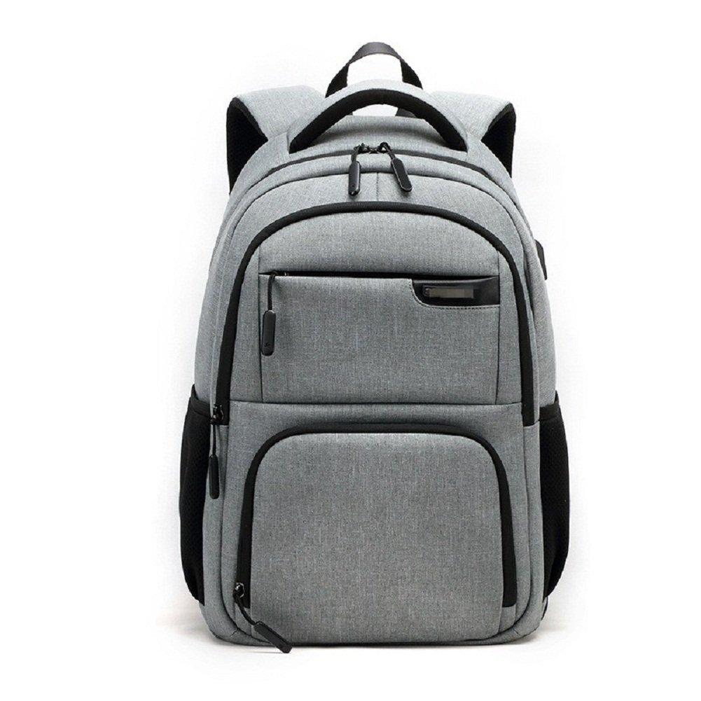 Urmiss Laptop Backpack Travel Computer Bag for Women & Men Anti Theft Water Resistant College School Bookbag, Slim Business Backpack w/USB Charging Port