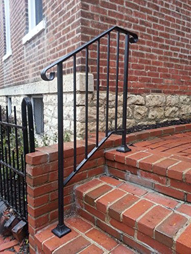 Diy Iron X Handrail Picket 2 Fits 2 Or 3 Steps In The