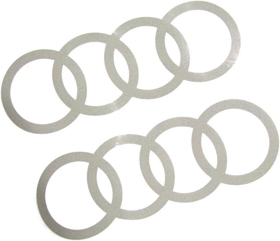 Audi 8w0064317b Dekorfolien Ringe Florettsilber Auto