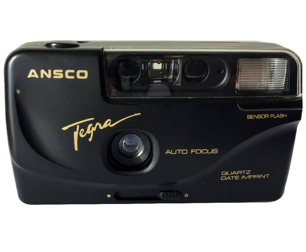 Ansco Tegra 35mm Film Camera Vintage Point & Shoot Flash Date/Time Imprint by Ansco
