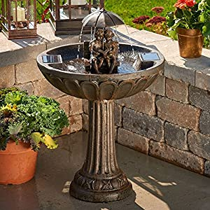 61WEwwYvaEL. SS300  - Smart Solar Story Time Solar Outdoor Fountain
