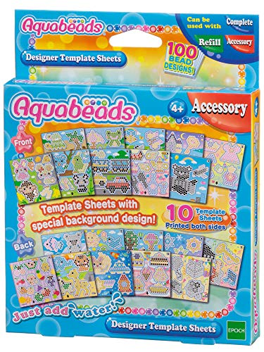 - Aquabeads Designer Template Sheet