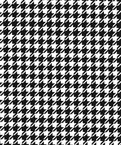 Alabama Paper - Houndstooth Gift Wrapping Paper Flat Sheet - 24