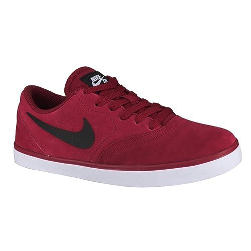 Nike SB Check - Zapatillas de Skateboarding para Hombre, Color Rojo/Negro / Blanco, Talla 45: Amazon.es: Zapatos y complementos