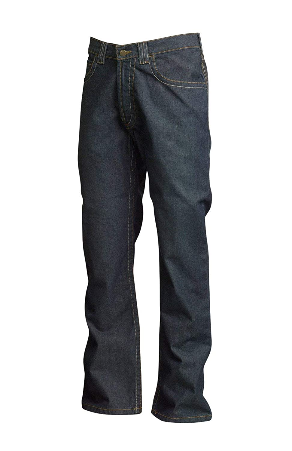 Dirty Washed Denim 28 x 28 Lapco FR P-INDM10 28X28 100/% Cotton Flame-Resistant Modern Jeans