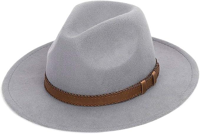 GHC gorras y sombreros Invierno Otoño Ala Ancha Sombrero de Jazz 2 ...