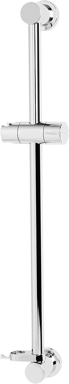 Bristan CAS RRAIL02 C Cascade Riser Rail with Adjustable Position Bracket Chrome