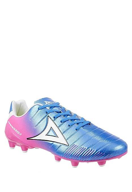 246e982084ad6 Impuls PIRMA Tenis Deportivo Soccer Tenis para Hombre Azul Rosa. Talla 28.5