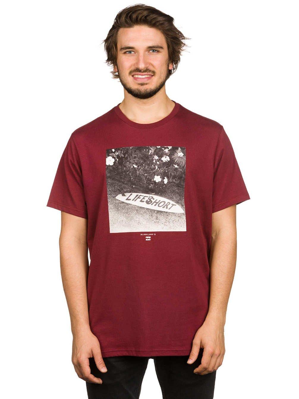 Billabong Men's Short Sleeve LIFES SHORT T-Shirt, Men, LIFES SHORT Short Sleeve TEE