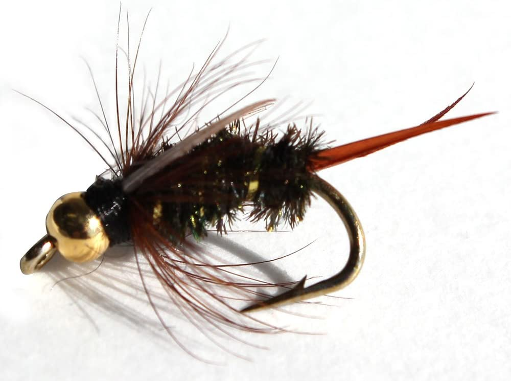 Hares Ear Nymph #16; 1 Dozen Trout Fishing Flies