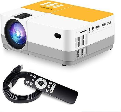 Amazon.com: TUREWELL H3 Proyector de Vídeo Proyector 3600 ...