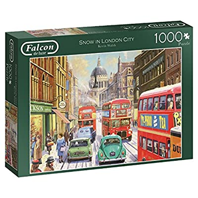 Jumbo Spiele 11192 Puzzle Falcon Snow In London City 1000 Pezzi