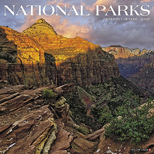 Charity Calendar - National Parks 2018 Calendar