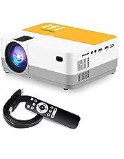 """Proiettore, Sidiwen H3 Videoproiettore Risoluzione Nativa HD 720P, 3600 Lumen Mini Proiettore Portatile LCD 180"""" 55000 Ore, per Case e Viaggio, Compatibile con Fire TV Stick/ TV Box/Teatro a Casa"""