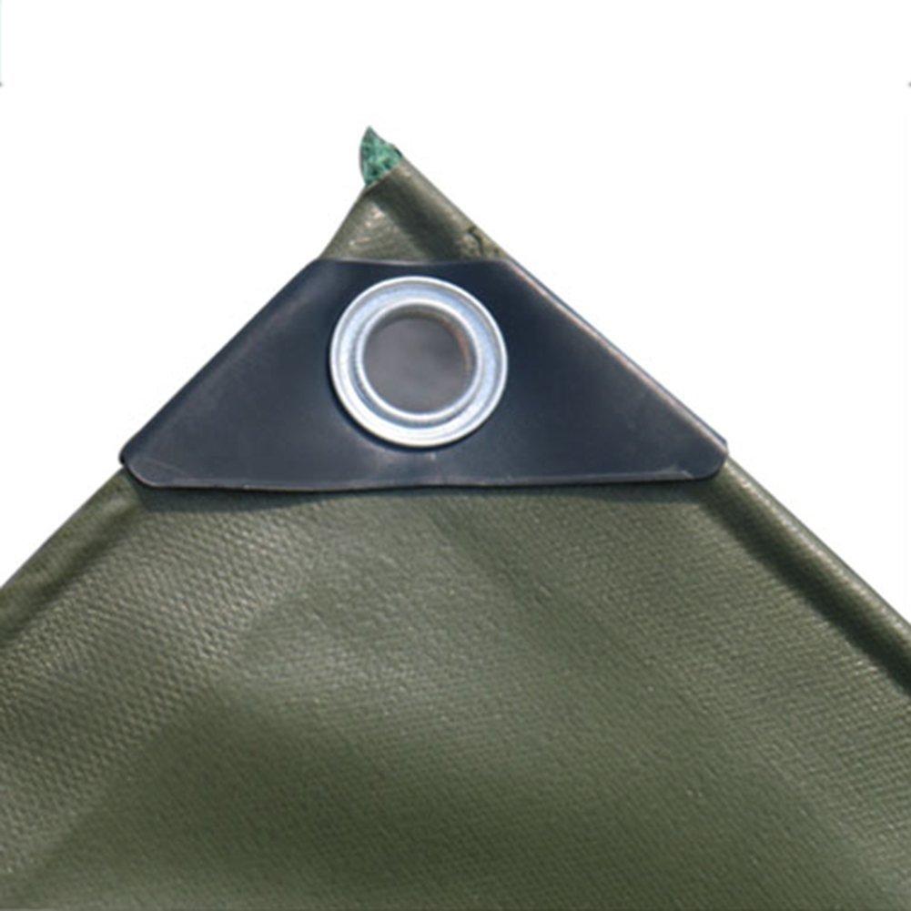 FERZA Home Zelt im Freien Plane Zeltstoff im Freien Zeltstoff Zeltstoff Zeltstoff Wasserdichte Plane doppelseitige feuchtigkeitsBesteändige Ladung Staubtuch Anti-Korrosions-Frostschutzmittel grün B07P552WBG Zelte Ausgewählte Materialien 6226e4