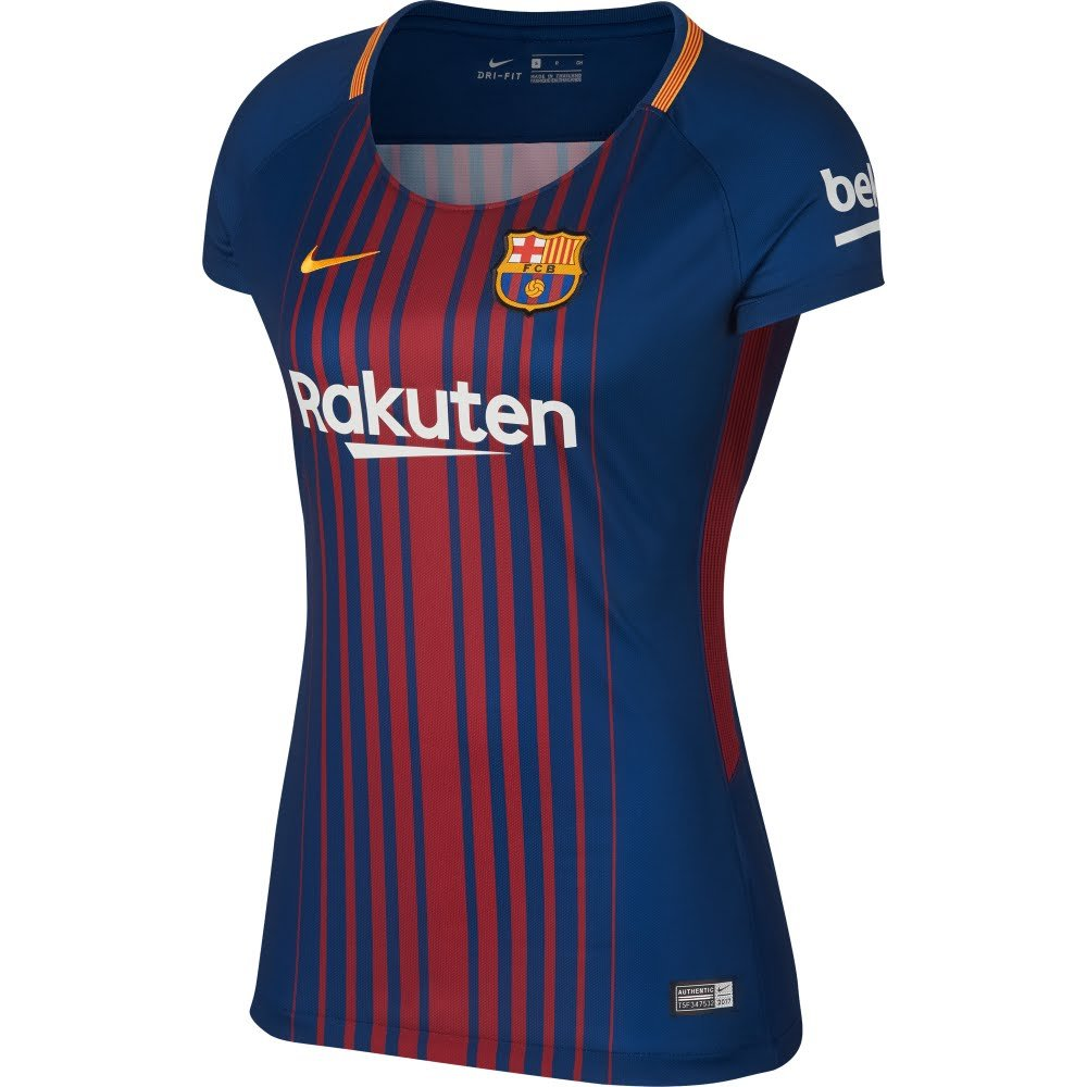 Nike Barcelona Home Womens Jersey 2017 / 2018