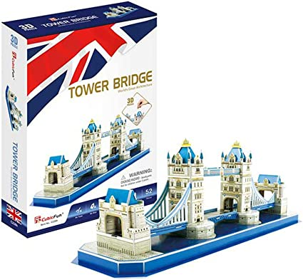 CubicFun Tower Bridge 3D Puzzle