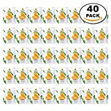 Wholesale 40 Packs of Dehydrated Mango, Made From Real Mango, Delicious Snack From Doi Kham Brand, Royal Project Product from Thailand. No Artificial Color and Flavor Added. (40 g/pack)
