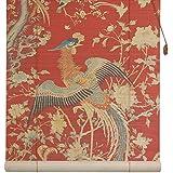 Oriental Furniture Red Phoenix Bamboo Blinds - (36 in. x 72 in.)