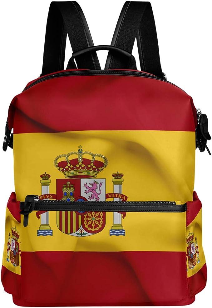 Mochila Oarencol con bandera de España ondeando la bandera de ...