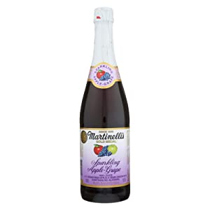 Martinelli Sparkling Apple Grape Juice - 25.4 ounce - 12 per case.