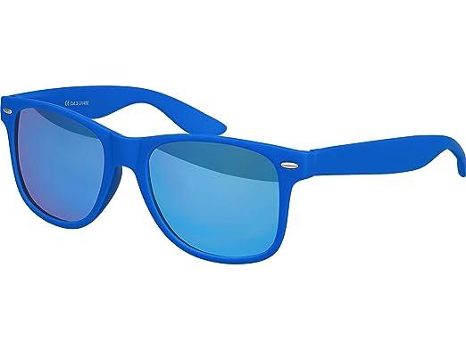Alta calidad Gafas De Sol De Nerd estera de goma Retro Vintage Unisex Gafas con Bisagra de muelle - 101 varios colores/Modelos a elegir