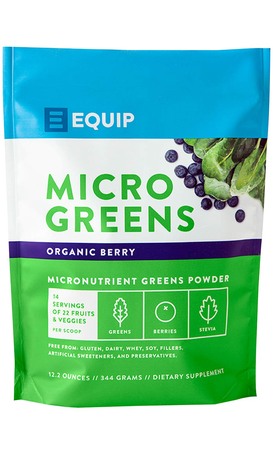 Organic Greens Superfood Powder Supplement: Best as Super Amazing Plant Based Juice Drink Mix Ideal for Athletic, Paleo, Vegan, Keto Diet. Raw Grass Power Vitamin Vibrance in Smoothies & Shakes by pureWOD
