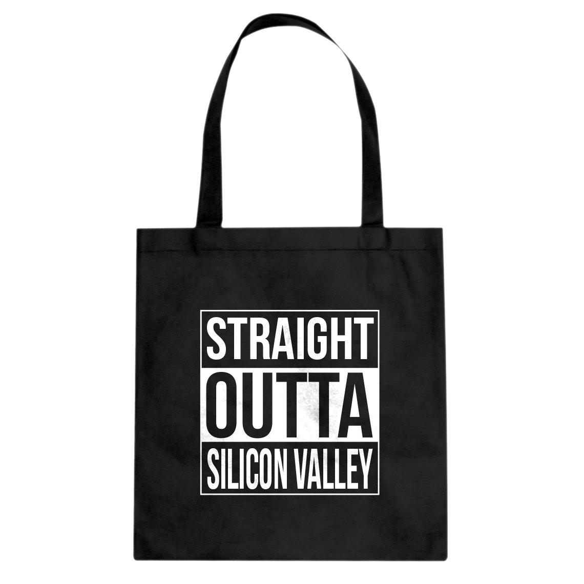 Indica Plateau Straight Outta Silicon Valley Cotton Canvas Tote Bag