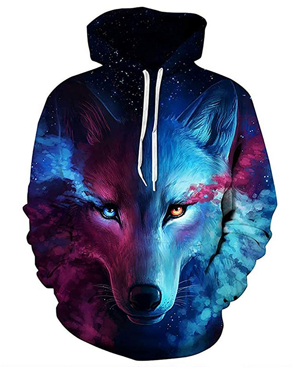 9Yourtime Your Love Hipster Wolf Cleaner Unisex Hoodie Pullover Men Sweatshirt