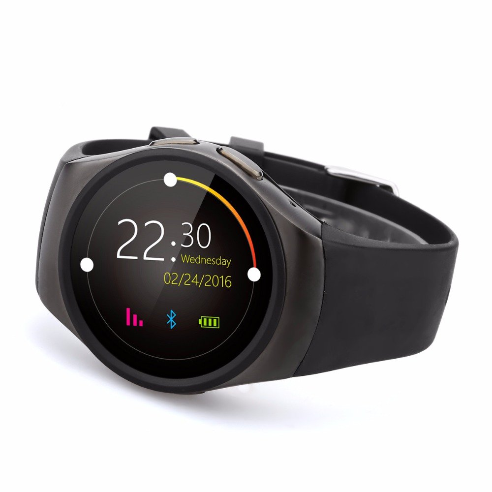 FUNSY Smart Watch Phone MTK2502C Round IPS Touch Screen ...