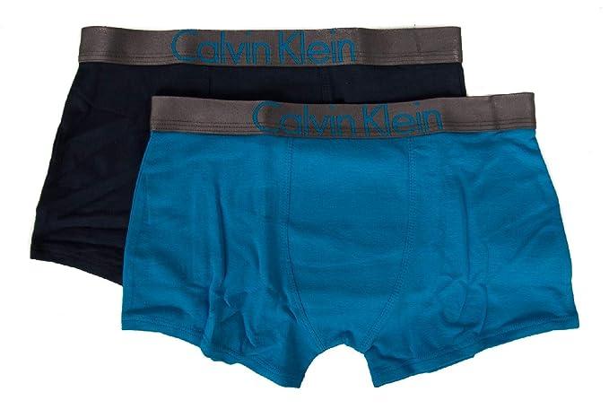 de2d284724 Calvin Klein Pack 2 Boxer Trunk Male boy Junior CK Item B70B700201 2PK  Trunks: Amazon.ca: Clothing & Accessories