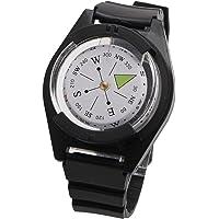 YOUSIKE Nova bússola tática de pulso – pulseira de relógio militar de sobrevivência ao ar livre