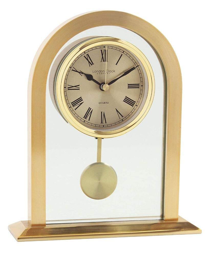 Acctim 36938/Colney Horloge de table en m/étal et verre en Dor/é