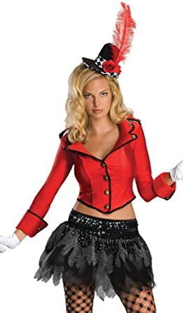 a3b3d4b095077 Amazon.com: Circus Ring Master Costume Sexy Halloween Costume S White:  Clothing